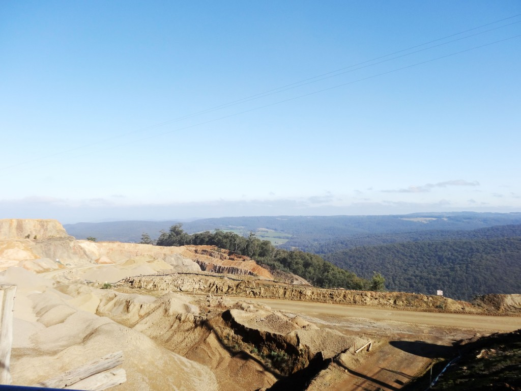 SITE PHOTO: View from Castella Quarries