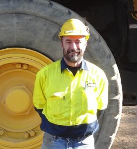 Justin Collins - Site Supervisor - Castella Quarries.