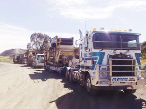 SITE PHOTO: Relocation of Crusher by DMM Engineering