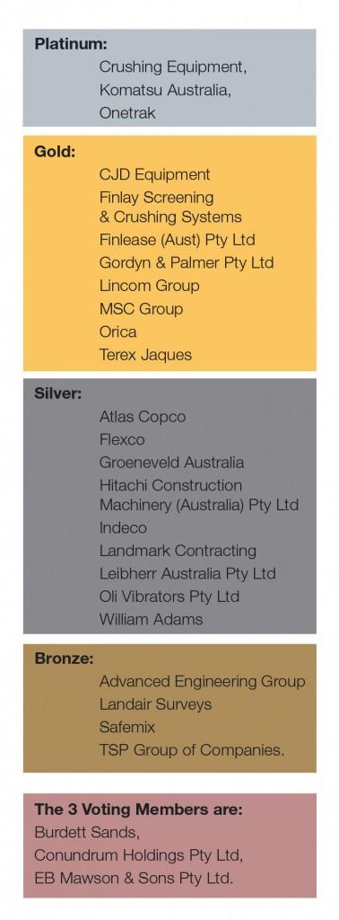 List of Sponsors