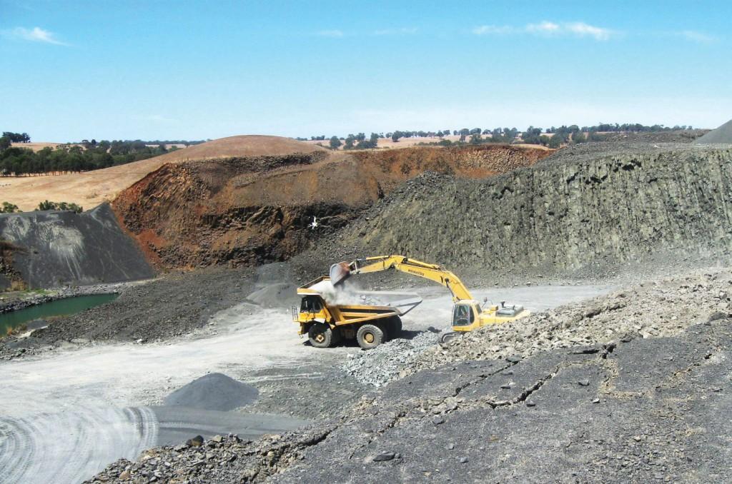 SITE PHOTO: Moree Quarry