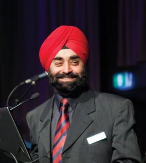 Photo: Associate Chairperson Mr Tej Panesar.