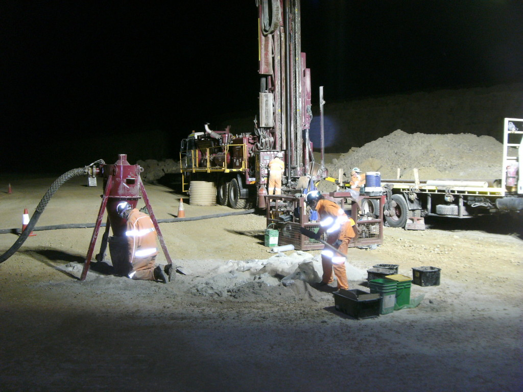 Site Photo: Drilling Work