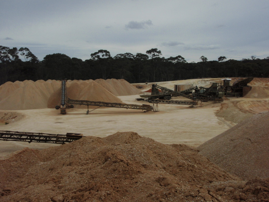 SITE PHOTO: Allstone Quarries - Castlemaine