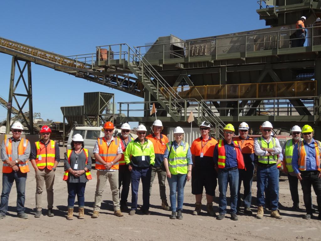 Site Visit to Allstone Quarries