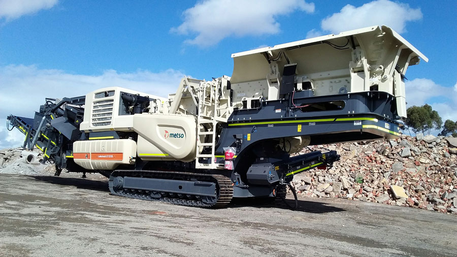 SITE PHOTO: The new METSO LT 1213