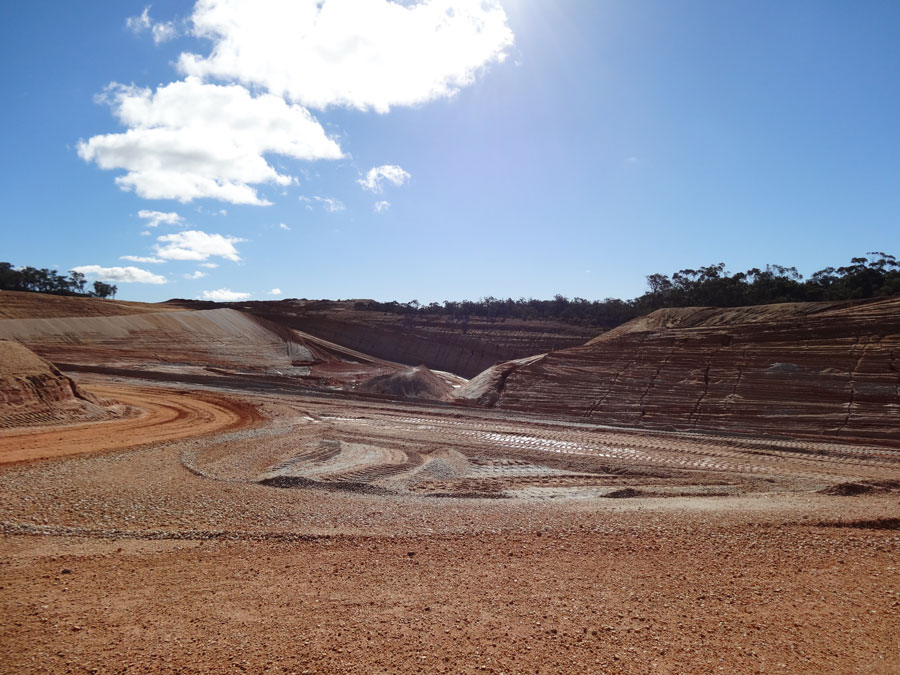 SITE PHOTO: Local Mix's sand and gravel quarry in Moriac