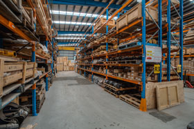 The Onetrak parts & distribution centre in Hallam