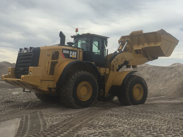 Dale Elphinstone purchased William Adams in 1987 bringing a wealth of industry knowledge to the business. More 90 years on, William Adams remains one of the oldest Caterpillar dealers in the world. The Caterpillar 982M Series Wheel Loader at the Barro Group, Nyora site.
