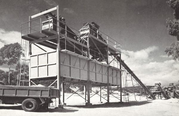 Stawell Quarry 1957