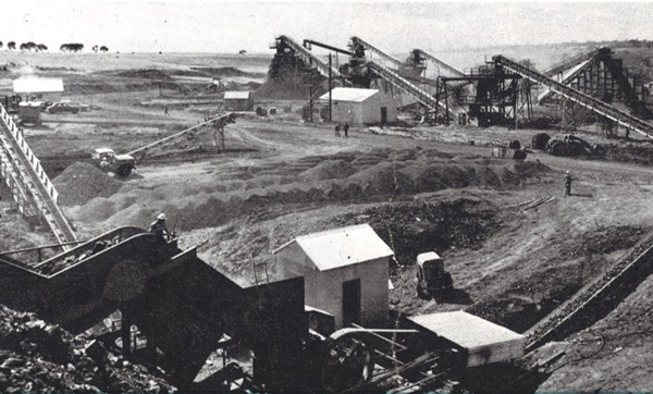 Bayview Quarries in 1960