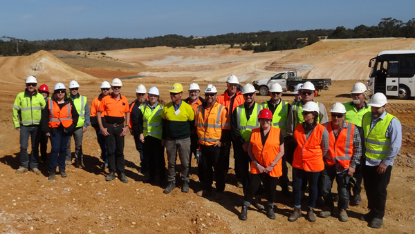 Site Visit to Local Mix - Moriac Quarry