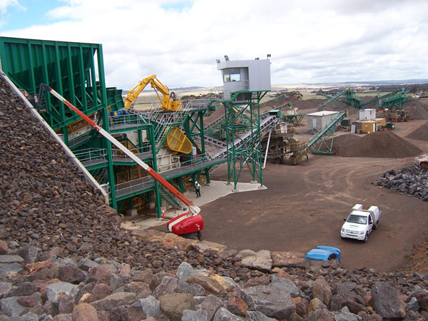 Skipton Quarry produces quality materials to meet all VicRoads and site-specific requirements for crushed rock.