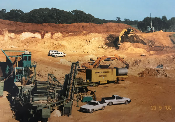 DE Quarry has been involved in a number of projects that have been key to the development of Victoria.