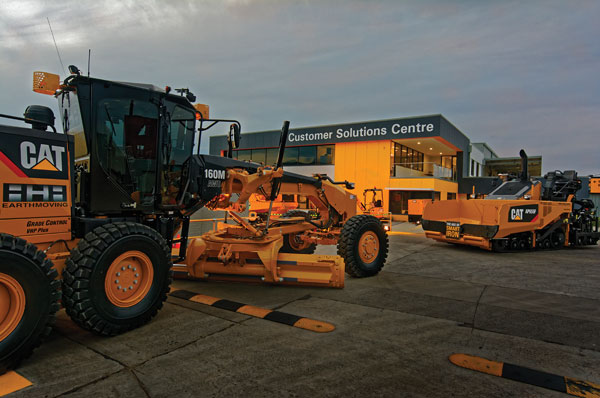 William Adams' Customer Solutions Group in Clayton is deemed one of the best facilities of its kind amongst Caterpillar dealers in the world.
